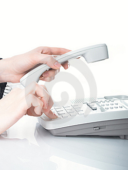 Hands And Phone Stock Images - Image: 8626014