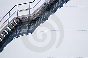 Abstract From A Gas Tower Royalty Free Stock Photos - Image: 8626138