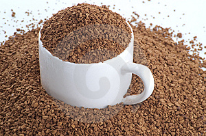 Granuled Coffee Royalty Free Stock Photo - Image: 8626555