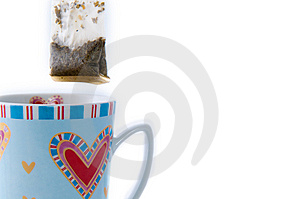 Cup Of Tea With Teabag Royalty Free Stock Photos - Image: 8626558