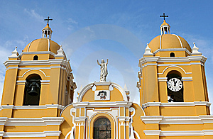 Colonial Church Stock Image - Image: 8626711