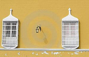 Orange Wall Stock Images - Image: 8626714