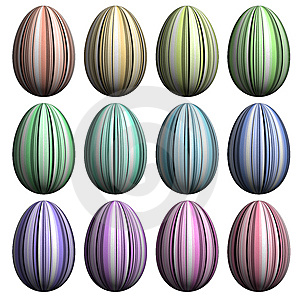 Easter Egg  Collection Stock Photography - Image: 8627072