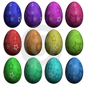 Easter Egg  Collection Royalty Free Stock Photos - Image: 8627098