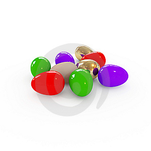 Colorful Easter Eggs Royalty Free Stock Photo - Image: 8627935