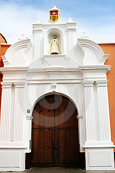 Trujillo Church Stock Photo - Image: 8628120