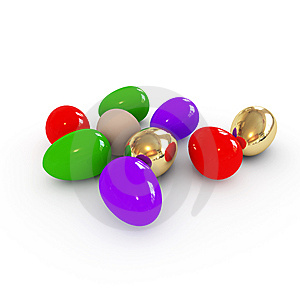 Colorful Easter Eggs Royalty Free Stock Photo - Image: 8628155