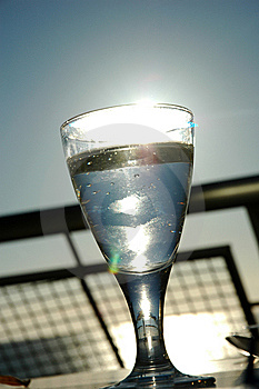 Water Glass Royalty Free Stock Image - Image: 8628216