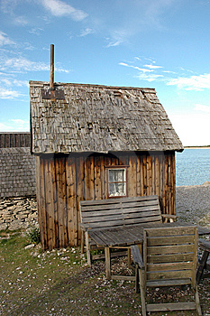 Fishing Hut Royalty Free Stock Photos - Image: 8628348