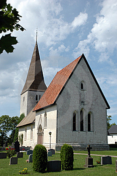 Church On Gotland Stock Photography - Image: 8628392
