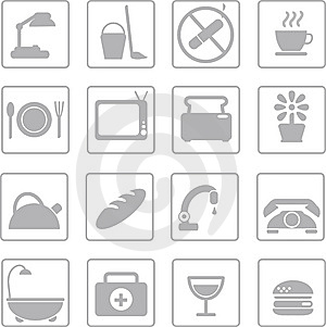 Icons Royalty Free Stock Photo - Image: 8628415