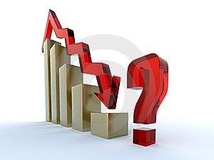 3d Rood Diagram Stock Afbeelding - Afbeelding: 8628451