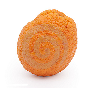 Fresh Orange On White Background Stock Photos - Image: 8628763