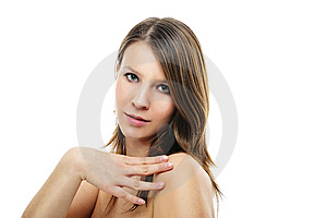 Portrait Of Beautiful Girl Stock Image - Image: 8629081