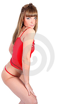 Young Sport Girl Royalty Free Stock Photos - Image: 8629208