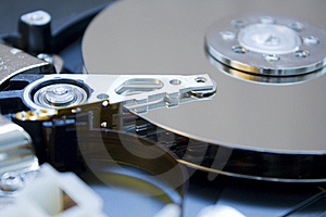 Hard Drive Details Stock Images - Image: 8629334