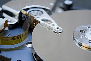 Festplattenlaufwerkdetails Stockfoto - Bild: 8629340