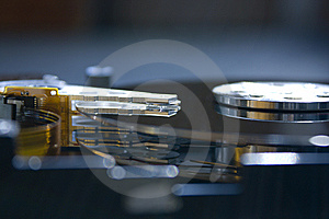 Hard Drive Details Royalty Free Stock Images - Image: 8629349
