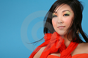 Asian Woman Royalty Free Stock Photography - Image: 8629377