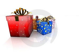 Gift Boxes Stock Photos - Image: 8629713