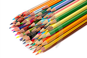 Colored Pencils Stock Photos - Image: 8630103