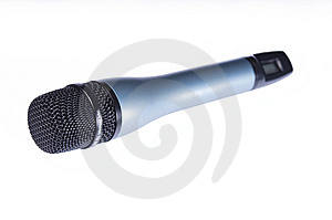 Microphone Royalty Free Stock Photography - Image: 8630127