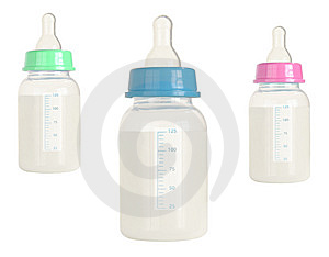 Children's Milk Stock Image - Image: 8630131