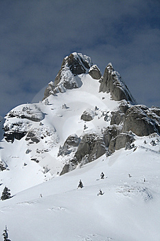 Mountain Peak Royalty Free Stock Images - Image: 8630189