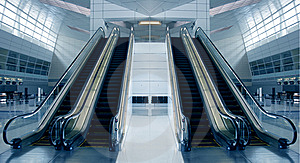 Modern Airport Architecture Royalty Free Stock Images - Image: 8630349