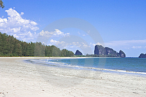 Chao Mai Beach, Trang Province, Thailand. Royalty Free Stock Images - Image: 8630679