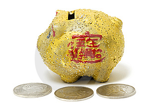 Piggy Bank Stock Image - Image: 8630781