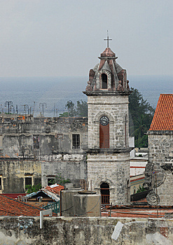 Churches Of Old Havana Royalty Free Stock Images - Image: 8631089