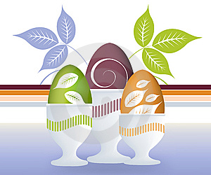 Easter Concept Illustration Stock Images - Image: 8631284