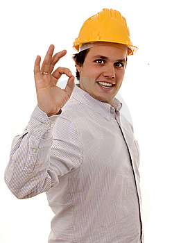Man Helmet Royalty Free Stock Images - Image: 8631339