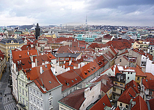 Prague Old Town Square Stock Images - Image: 8631524
