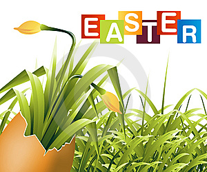 Easter Concept Illustration Royalty Free Stock Image - Image: 8631616