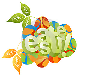 Easter Concept Illustration Stock Photos - Image: 8631663