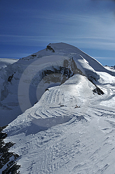 The Allalinhorn Stock Images - Image: 8631674
