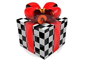 Present Box Royalty Free Stock Image - Image: 8631746