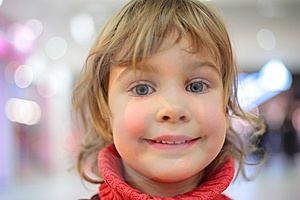 Portrait Of Little Girl Royalty Free Stock Images - Image: 8632569