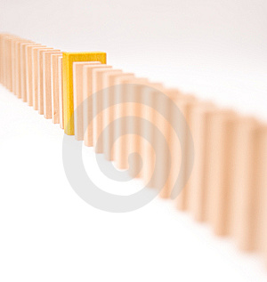 Yellow Difference Royalty Free Stock Images - Image: 8632599