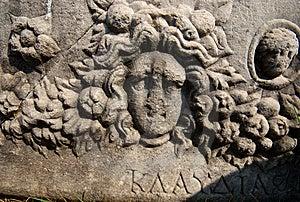 Klaudia's Sarcophagus Royalty Free Stock Photos - Image: 8632788