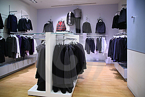 Clothing Department Royalty Free Stock Photography - Image: 8632877