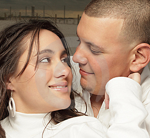 Young Couple Headshot Stock Photography - Image: 8633222