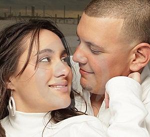 Young Couple Headshot Stock Photography - Image: 8633222