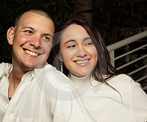 Young Couple Smiling Stock Photography - Image: 8633232