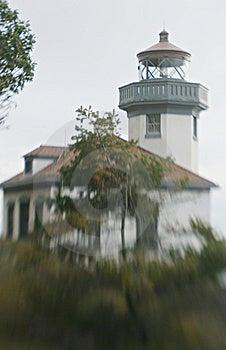 Lighthouse On The Coast Stock Images - Image: 8633314