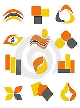Logo8 Stock Image - Image: 8633401