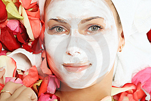 Face Cream Royalty Free Stock Photos - Image: 8633778
