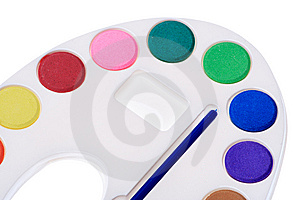 Multicolor Paint Royalty Free Stock Image - Image: 8633906
